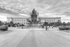 MuseumsQuartier, Museumsplatz, вена стоковое изображение
