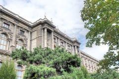 MuseumsQuartier, Museumsplatz, Viena Fotografía de archivo libre de regalías
