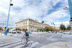 MuseumsQuartier, Museumsplatz, Vienna Stock Photography