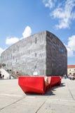 Museumsquartier Viena, Áustria Imagem de Stock Royalty Free