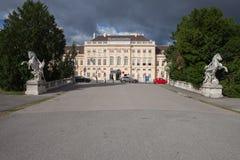 Museumsquartier a Vienna Fotografia Stock
