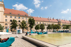 The Museumsquartier in Vienna royalty free stock images