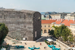 The Museumsquartier In Vienna stock photos