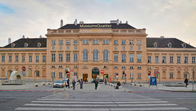 Museumsquartier, Vienna Royalty Free Stock Photography