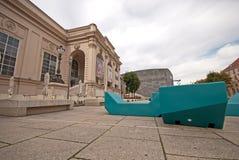 Museumsquartier Wien Stock Afbeelding