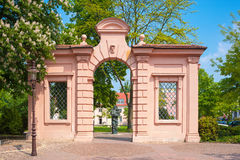 The Museumstor also Rossi Gate in Rastatt Royalty Free Stock Photo