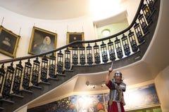 Museumtentoongesteld voorwerp in Chester England royalty-vrije stock foto's