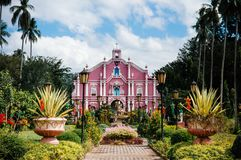 Museumvilla Escudero, San Pablo, Filippijnen stock afbeelding