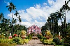 Museumvilla Escudero, San Pablo, Filippijnen royalty-vrije stock afbeelding