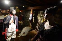Museumwijnmakerij Santa Rita Stock Foto's