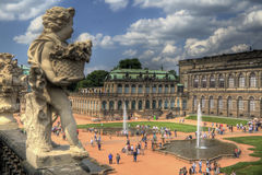 museumzwinger royaltyfria bilder