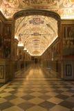 Museus de Vatican - corredores Fotos de Stock Royalty Free