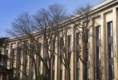 Museus que constroem, Trocadero, Paris imagens de stock royalty free