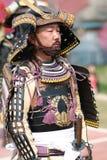 Musha Gyoretsu (défilé de guerrier dans la ville de Kanra) Photographie stock libre de droits