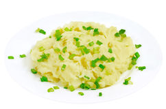Mushed potato stock photography