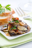 Mushroom appetizer Royalty Free Stock Images