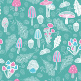 Mushroom background Royalty Free Stock Photography
