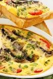 Mushroom Bake Stock Images