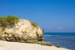 Mushroom beach on Lembongan island Royalty Free Stock Image