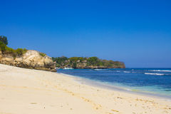 Mushroom beach, Nusa Lembongan Royalty Free Stock Photo