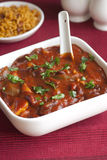 Mushroom and bean chilli Stock Image