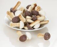 Mushroom cakes Royalty Free Stock Image