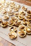 Mushroom Canape Royalty Free Stock Photography