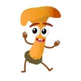 Mushroom cartoon character Stock Photos