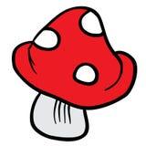 Mushroom cartoon Royalty Free Stock Photo