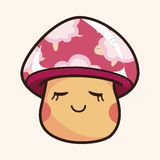 Mushroom cartoon theme elements vector,eps Stock Photo