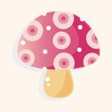 Mushroom cartoon theme elements vector,eps Stock Image