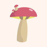 Mushroom cartoon theme elements vector,eps Stock Photos