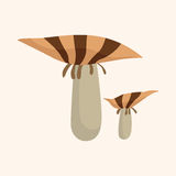Mushroom cartoon theme elements vector,eps Royalty Free Stock Images