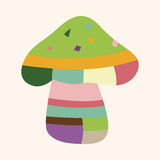 Mushroom cartoon theme elements vector,eps Royalty Free Stock Photos