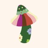 Mushroom cartoon theme elements vector,eps. Vector illustration file Royalty Free Stock Photos