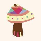 Mushroom cartoon theme elements vector,eps. Vector illustration file Stock Photography