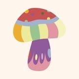 Mushroom cartoon theme elements vector,eps. Vector illustration file Royalty Free Stock Photography