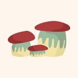 Mushroom cartoon theme elements vector,eps Royalty Free Stock Photo