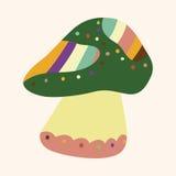 Mushroom cartoon theme elements vector,eps Royalty Free Stock Photos