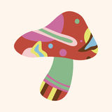 Mushroom cartoon theme elements vector,eps Stock Photography