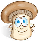 Mushroom cartoon Royalty Free Stock Photography