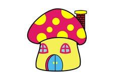 Mushroom Clip Art. Colorful mushroom clip art on white background Stock Photography
