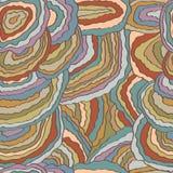 Mushroom colorful seamless pattern Royalty Free Stock Photo