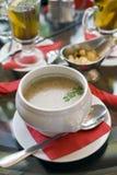 Mushroom cream soup Royalty Free Stock Photo