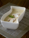 Mushroom cream-soup Royalty Free Stock Image