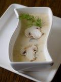 Mushroom cream-soup stock photo