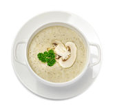 Mushroom cream soup Stock Photography