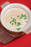 Mushroom cream  soup Royalty Free Stock Photos
