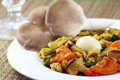 Mushroom curry Royalty Free Stock Photos