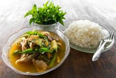 Mushroom curry Stock Photography